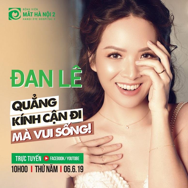 Giao lưu trực tuyến cùng nữ diễn viên mc Đan Lê.