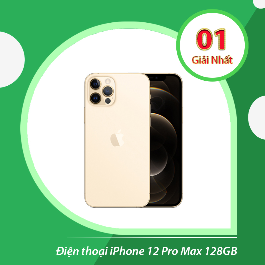 Mua kính đổi màu chính hãng trúng iPhone 12 Pro Max 128GB