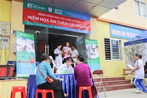 L'Hôpital ophtalmologique Hanoï 2 éclaire la vue des diabétiques