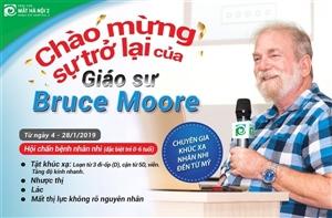 CHÀO MỪNG SỰ TRỞ LẠI CỦA GIÁO SƯ BRUCE MOORE
