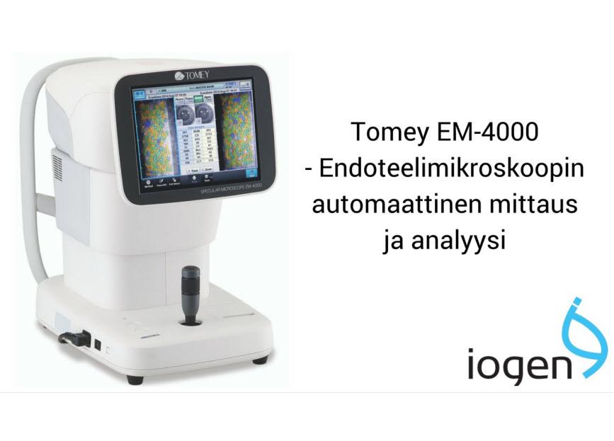 EM-4000, Tomey